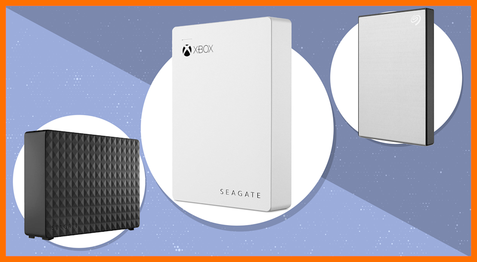 Today only: Save up to 44 percent off select Seagate External Hard Drives. (Photo: Amazon)