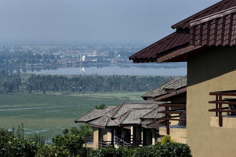 Most hotels around the picturesque lake in Srinagar are shuttered