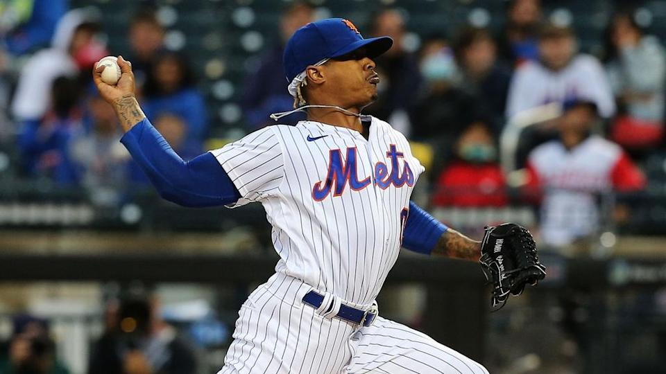Marcus Stroman pitches in home uniform vs. Braves