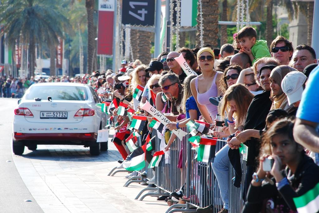 Crowds gather to see the attractions at the National Day Parade. (Photo: Donna.M.Bee.Photography)