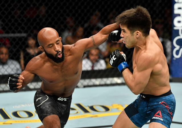 Demetrious Johnson is one of the greatest fighters in UFC history. He might not be a good match for Floyd Mayweather. (Photo by Jeff Bottari/Zuffa LLC/Zuffa LLC via Getty Images)