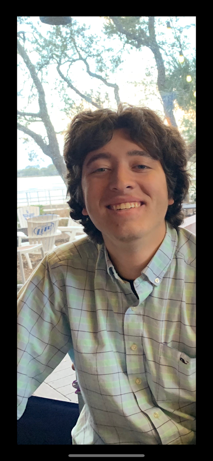 Kyle Edgar, 20, had all the symptoms of the flu after socializing with what he estimates were thousands of people during spring break. He's in remission from bone cancer and was able to get tested.
