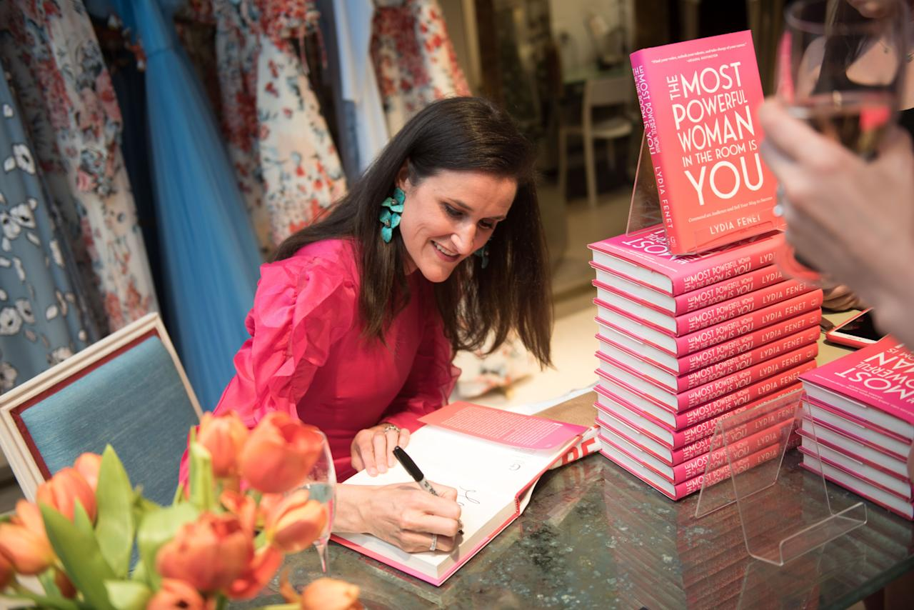 <p>On Wednesday, May 29th, <em>Town & Country</em>'s Hillary Koota Krevlin hosted an in-store cocktail party and shopping event at the Carolina Herrera boutique on Madison Avenue. Guests gathered to celebrate author and businesswoman Lydia Fenet, as she personally signed copies of her new book, <em>The </em><em>Most Powerful Woman in the Room is You</em>. Between champagne toasts, Hillary welcomed guests alongside Carolina Herrera President, Emilie Rubinfeld. Lydia then shared some insights into her book and the powerful connection she shares with the Carolina Herrera brand.</p>