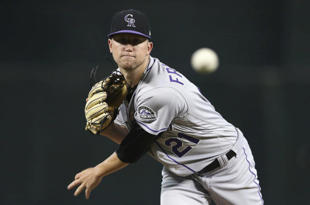 In 13 home starts at Coors Field, Kyle Freeland has a 2.21 ERA. (AP)