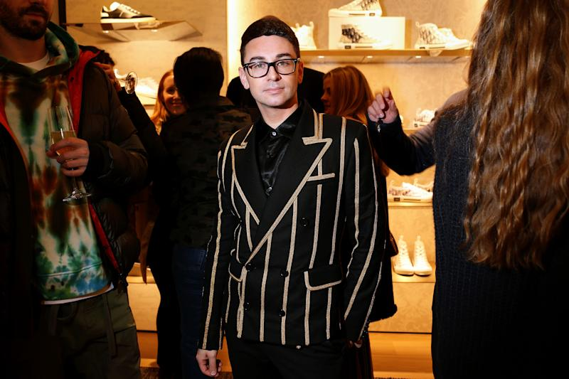 Fashion designer Christian Siriano offers to sew masks for COVID-19 crisis