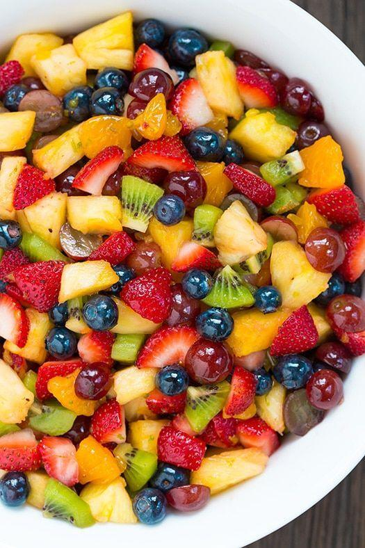 """<p>A colorful fruit salad is a healthy, yet still tasty, option for mom. A touch of honey enhances the fruit's natural sweetness.</p><p><strong>Get the recipe at <a href=""""https://www.cookingclassy.com/honey-lime-rainbow-fruit-salad/"""" rel=""""nofollow noopener"""" target=""""_blank"""" data-ylk=""""slk:Cooking Classy"""" class=""""link rapid-noclick-resp"""">Cooking Classy</a>.</strong></p>"""
