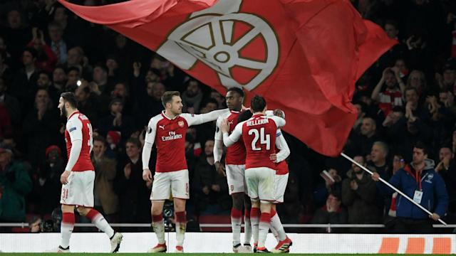 Arsenal face a trip to CSKA Moscow in the Europa League quarter-finals, while favourites Atletico Madrid take on Sporting CP.