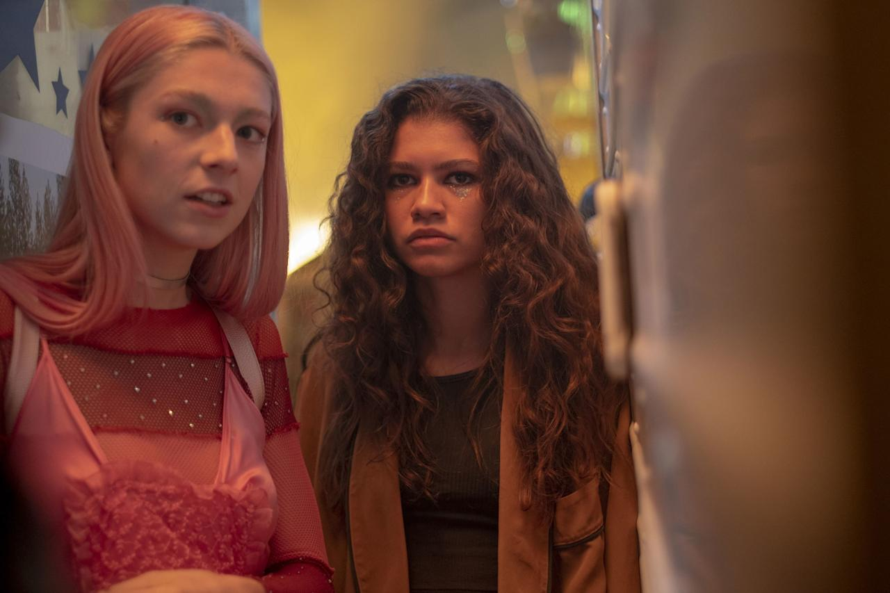 Still not over Euphoria? Then channel Rue and Jules this Hallows Eve with bedazzled makeup and all.