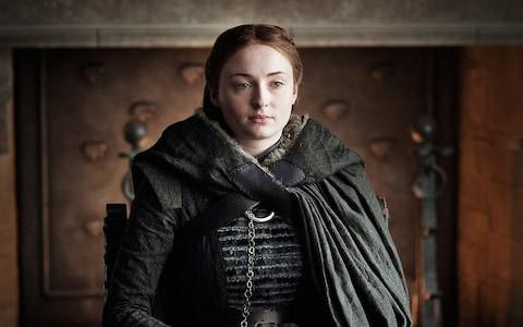 Sophie Turner as Sansa Stark in Game of Thrones - Credit: HBO