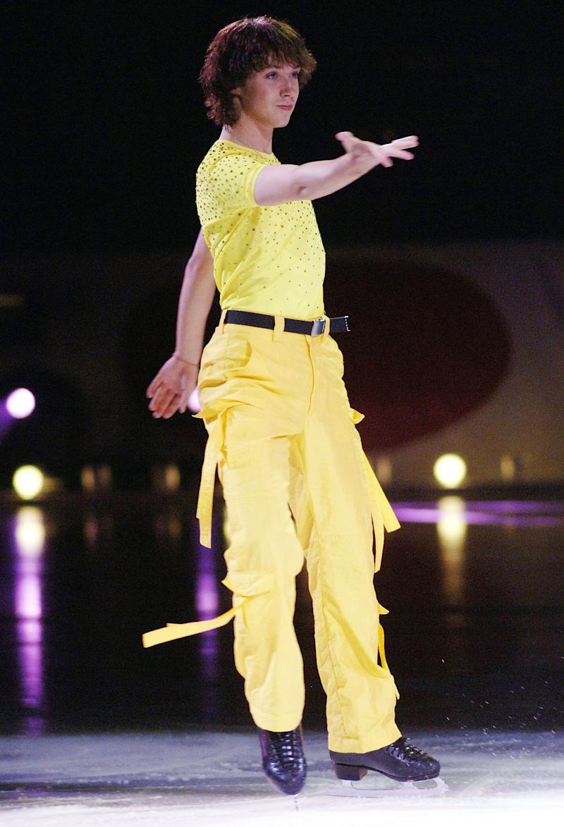 "Performing as part of ""Champions on Ice 2006"" at the HP Pavilion on Aug. 5, 2006, in San Jose, California."