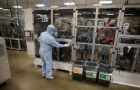 Envision battery manufacturing plant at Nissan's Sunderland factory