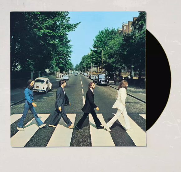 Abbey Road Anniversary LP. Image via Urban Outiftters.