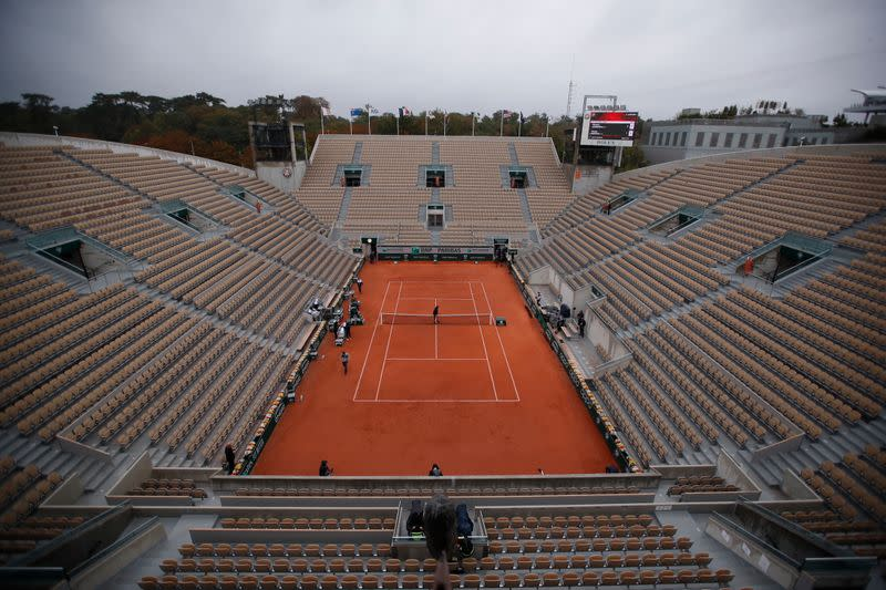 Highlights: French Open day one