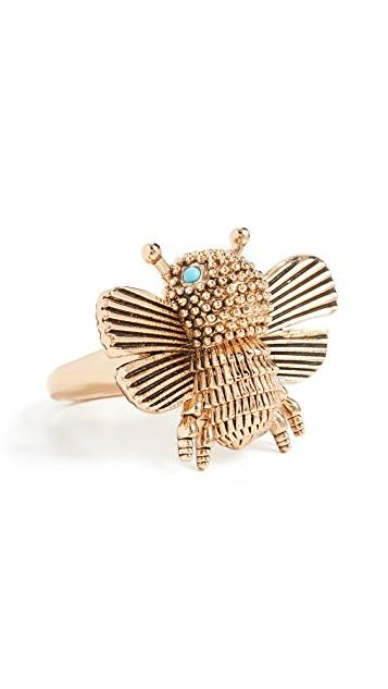 Kate Spade All Abuzz Bee Ring