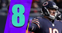 <p>The Bears allow the lowest passer rating in the NFL, at 79.8. Mitchell Trubisky has a 101.6 passer rating, and the Bears offense ranks ninth in that category. It's a pretty good way to build a first-place team. (Mitchell Trubisky) </p>