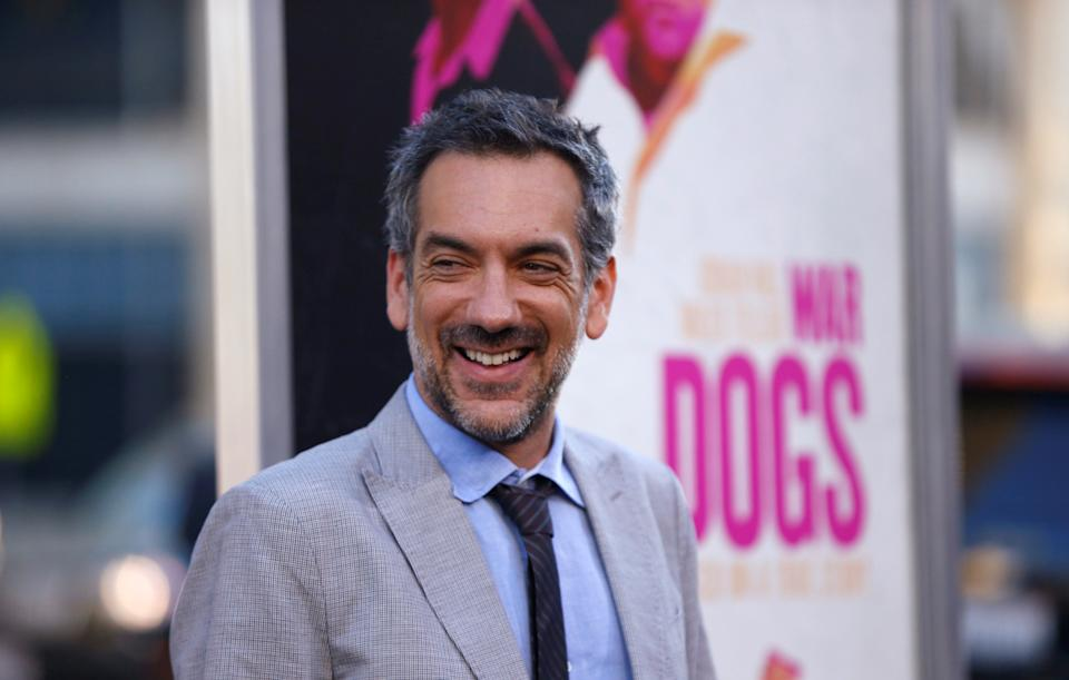 """Director of the movie Todd Phillips poses at the premiere for the movie """"War Dogs"""" at the TCL Chinese theatre in Hollywood, California U.S., August 15, 2016.   REUTERS/Mario Anzuoni"""