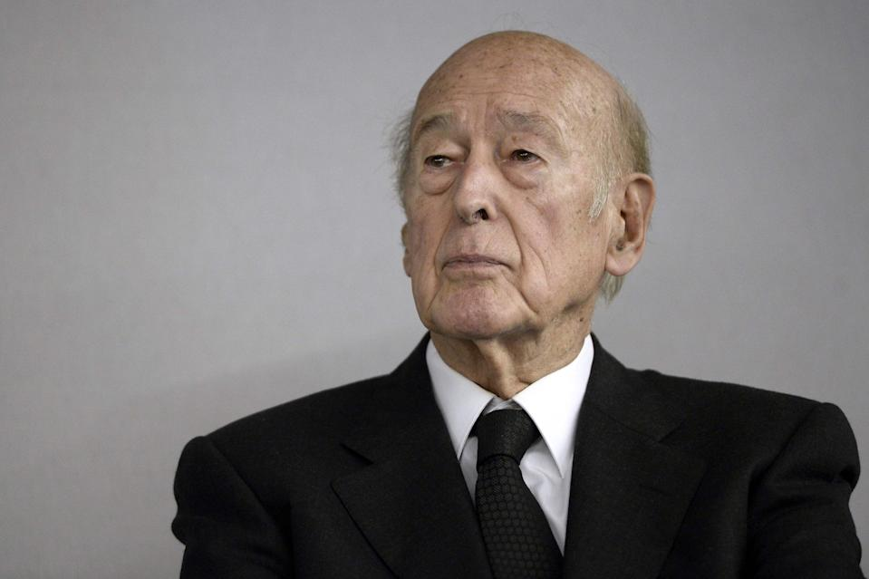 Former French President Valery Giscard d'Estaing, pictured here in 2014, has died aged 94 (AFP via Getty Images)