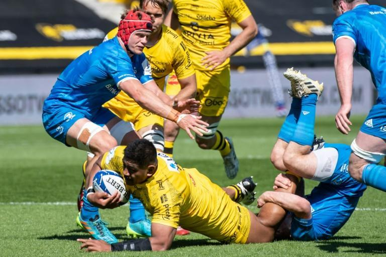 Australia lock Will Skelton scored his first La Rochelle try in the semi-final win