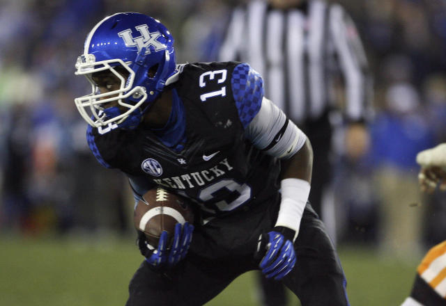 Kentucky WR Jeff Badet to miss two games after taking tennis ball to the eye