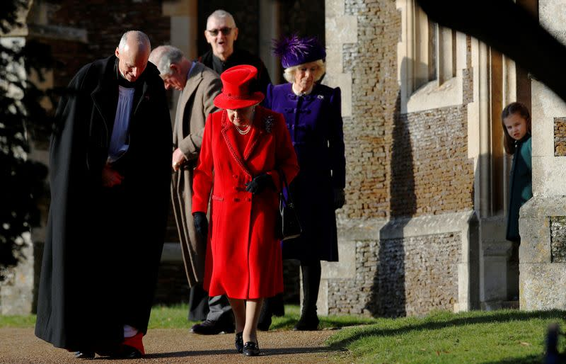 Britain's Prince Andrew skips Christmas Day walk after royals' 'bumpy' year