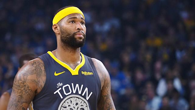 DeMarcus Cousins will receive his first 'rest' night since being activated Jan. 18 when the Warriors play the back end of a back-to-back set in Portland on Wednesday.