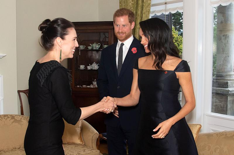 Jacinda Ardern Gallery: Meghan Markle Quietly Reunites With New Zealand's