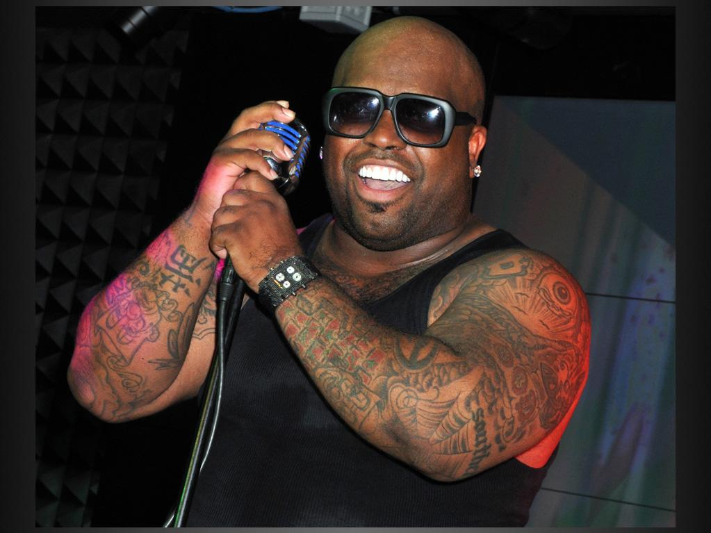 """Cee Lo Green<br><br> Cee Lo Green has tattoos all over his body -- even his face -- so it's surprising to know that he actually walked out of a tattoo parlor in the middle of getting his back inked because he was in too much pain. """"I think that the tree on my back gave me the most pain. When you get your arms done ... if you can see what's going on, then maybe, psychologically, you think you can control it. Apparently you can, because it doesn't hurt so bad. With your back, you're lying on your front getting the tattoo and you just feel totally out of control -- you can't get a gauge on whether they're close to completion. So I gave up on it and I have an unfinished tattoo on my back. It was meant to be a family tree; I haven't been in a rush to finish it."""" That explains why we couldn't find a photo of the unfinished tattoo."""