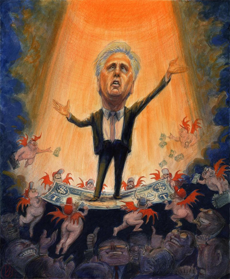 RS-KEVIN-MCCARTHY-RGB-FULL - Credit: Illustration by Victor Juhasz for Rolling Stone
