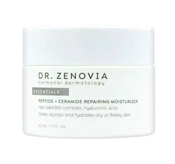 <p>The <span>Dr. Zenovia Skincare Peptide + Ceramide Repairing Moisturizer</span> ($79) is great for normal, dry, and combination skin types, as it's deeply hydrating and helps repair the skin's barrier.</p>