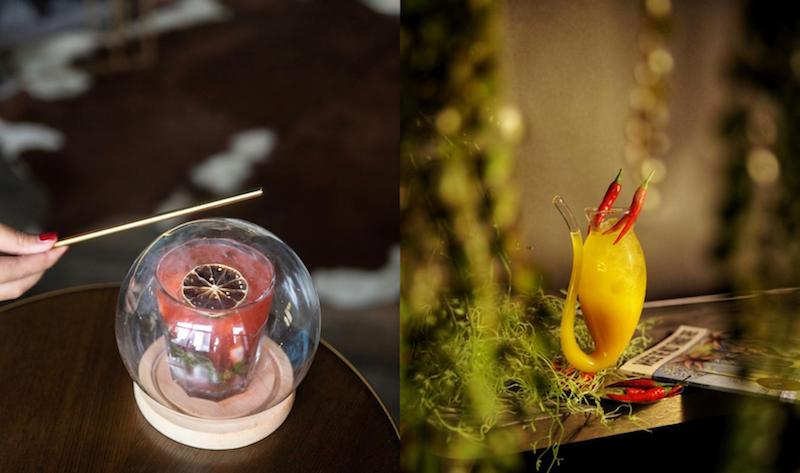 Harry Potter & Where the Wild Things Are mocktails. Photos: Wanderlost Lounge