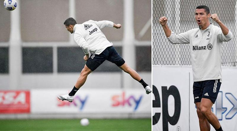 Cristiano Ronaldo Trains Hard for Juventus' Next Serie A 2020–21 Match Against Napoli, Shares Thoughtful Post on Social Media