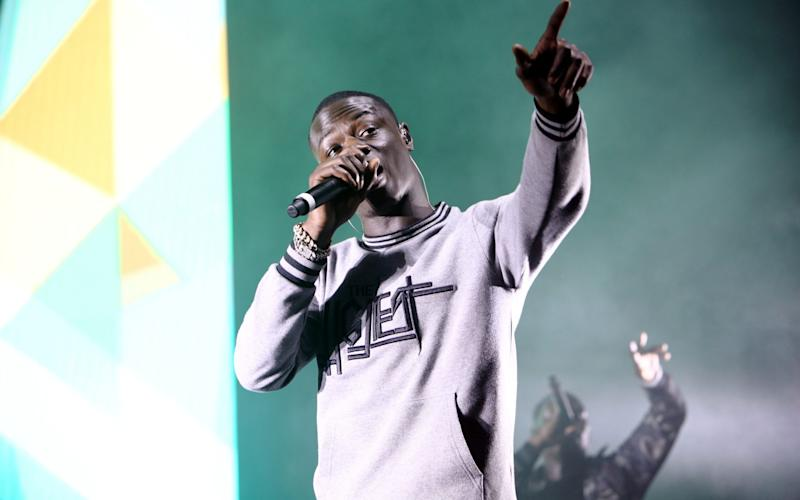 J Hus Performing at the O2 Academy Brixton, London in November - Redferns