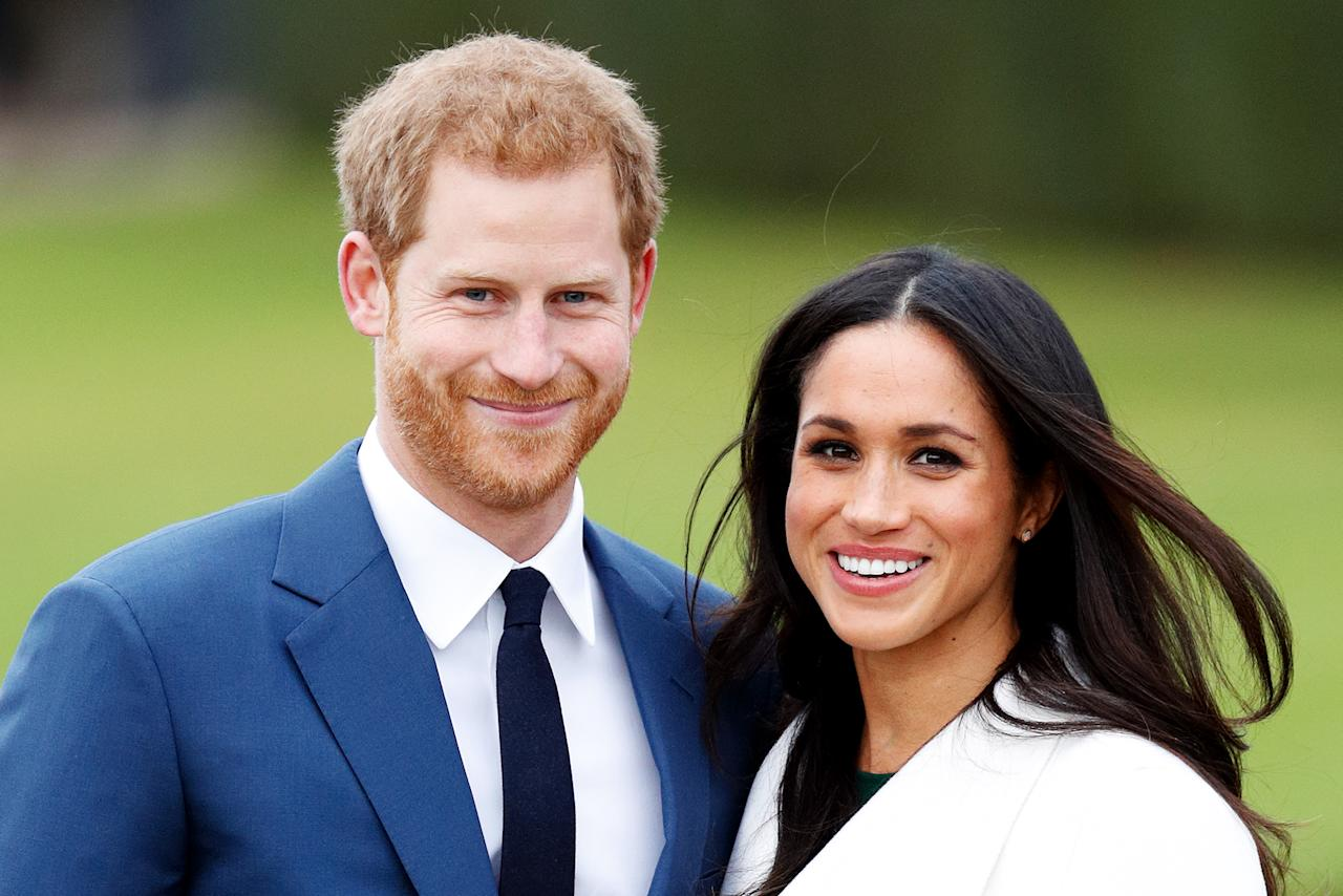 "<p>After months of breathless speculation — to the point where the Royal Palace issued a statement telling people to chill out — it was officially announced that the <i>Suits</i> actress and Prince Harry are engaged! The entire world lost its mind over the announcement, and even <a rel=""nofollow"" href=""https://www.yahoo.com/entertainment/celebrities-react-prince-harry-meghan-markles-engagement-171416188.html"">celebs took to Twitter</a> to share their joy. But Markle took it all in stride, looking adorable in <a rel=""nofollow"" href=""https://www.yahoo.com/entertainment/prince-harry-meghan-markle-royally-slideshow-wp-162950475.html"">her first official photo op</a> and charming the world in the couple's first official interview, in which she admitted she was so excited to say yes that she didn't let Harry finish his proposal. Aww! (Photo: Max Mumby/Getty Images) </p>"