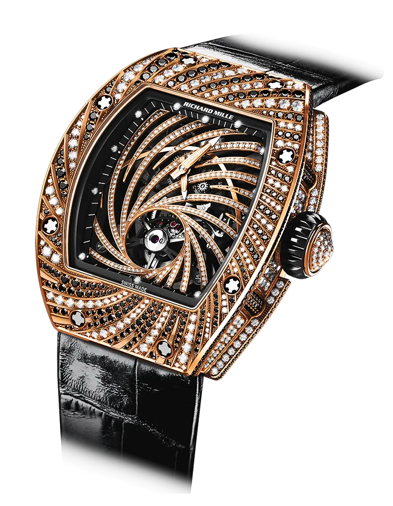 "A Richard Mille RM 51-02 ""Diamond Twister"" like the one stolen from a tourist in Paris."