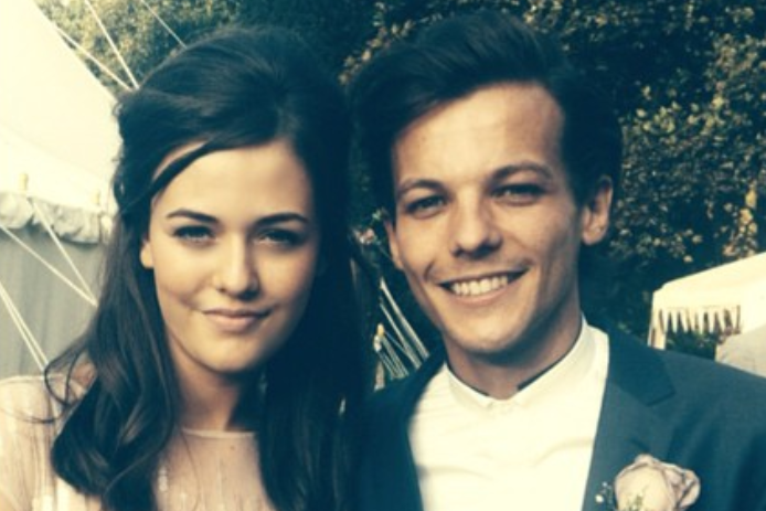 Louis Tomlinson pictured with his sister Félicité, who has died aged 18 of a suspected heart attack: Instagram
