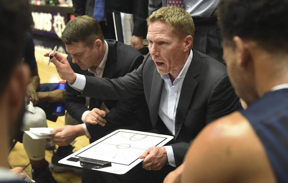 Gonzaga is on the verge of finishing the regular season unbeaten for the first time under Mark Few. (AP)