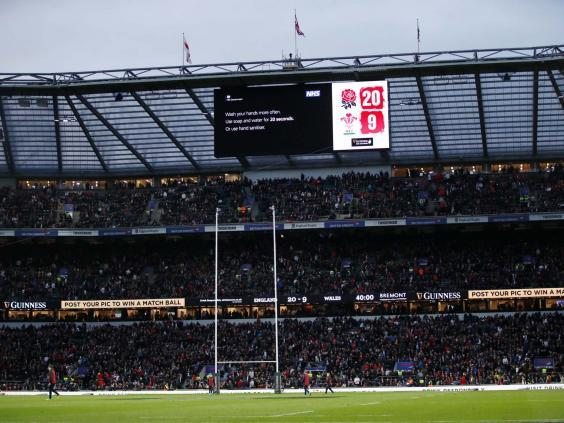 Twickenham is expecting 'considerable' financial losses (Reuters)