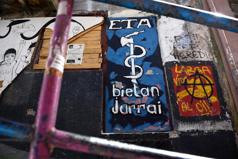On April 8, Basque separatist group ETA said it had completely and unilaterally disarmed