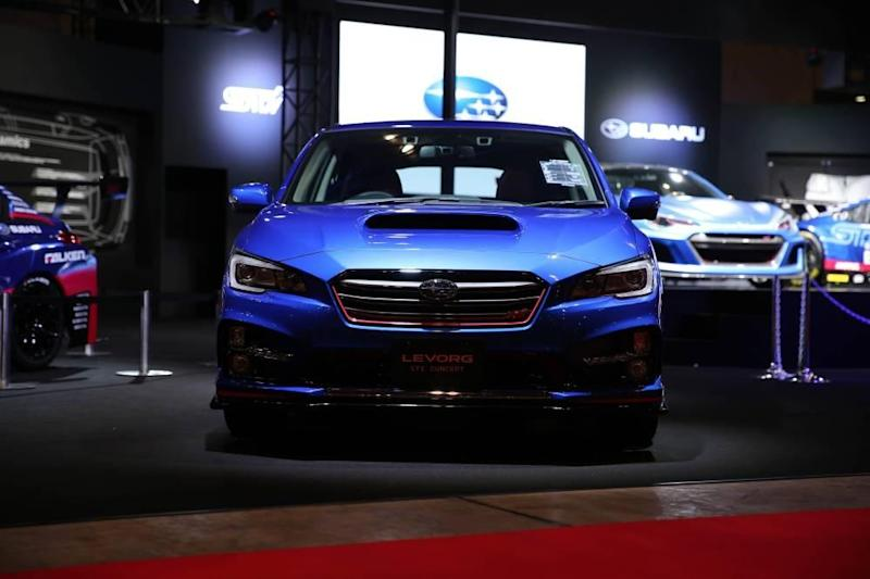 Subaru's performance push begins with STI-tuned variants of the Levorg and the XV