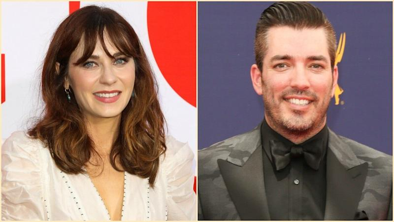 Zooey Deschanel and 'Property Brothers' Star Jonathan Scott Are Dating