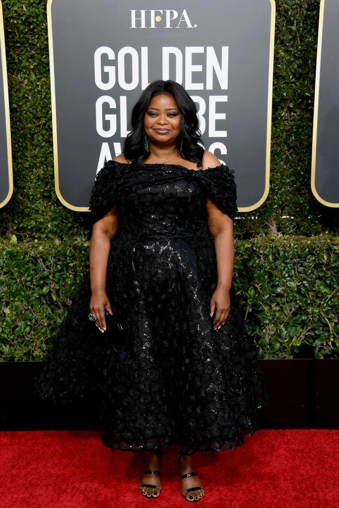 <p>Octavia Spencer attends the 76th Annual Golden Globe Awards at the Beverly Hilton Hotel in Beverly Hills, Calif., on Jan. 6, 2019. (Photo: Getty Images) </p>