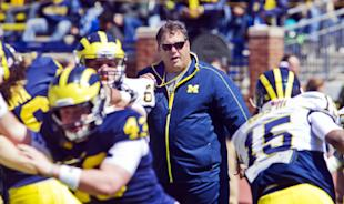 Can Brady Hoke and the Wolverines bounce back from a difficult 7-6 season? (AP)