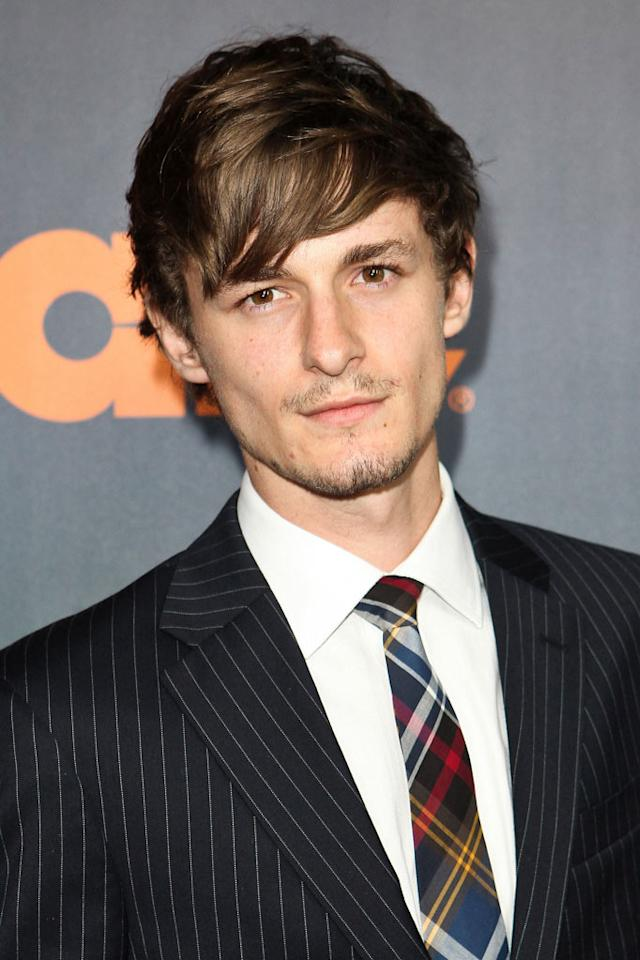 "Giles Matthey arrives at the premiere of Starz's ""<a href=""/boss/show/46953"">Boss</a>"" at ArcLight Cinemas on October 6, 2011 in Hollywood, California."