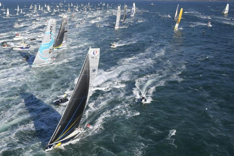 The Vendee Globe will start as planned on November 8 but there will be no supporters quayside at Sables-d'Olonne to see off the 33 yachts