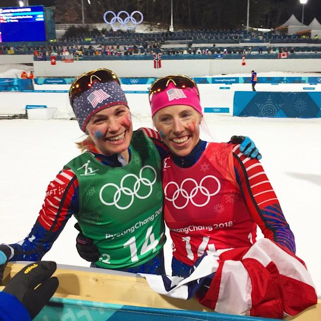 <p>reesehanneman: GOOOOOOOLD!!!! <br>#whatjusthappened #neverbefore #inshoc k #ourentirecountryhasbeenworkingforthis #theydidit #untouchable #insane #goldmedal #olympics #olympicgold #pyeongchang2018<br>(Photo via Instagram/reesehanneman) </p>