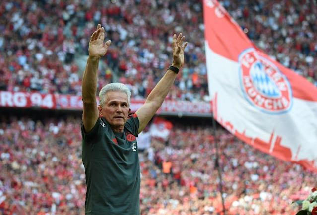 Thanks for the memories: Bayern Munich coach Jupp Heynckes ready to end his fourth spell in charge (AFP Photo/Christof STACHE)