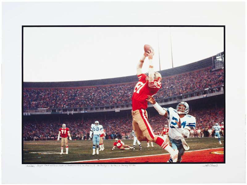 Walter Iooss Jr., Dwight Clark, The Catch, San Francisco, CA, 1982