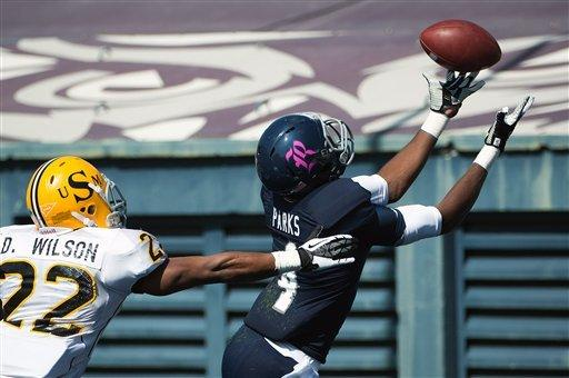 Peterson leads Rice past Southern Miss 44-17
