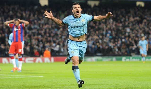 Aguero has scored 257 goals for City in 10 years