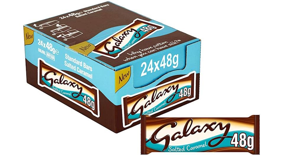 Galaxy Salted Caramel Chocolate, 24 Bars